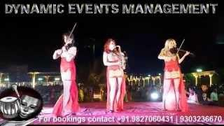 International Female Musicians India Playing Bollywood Music Indian Wedding Mumbai