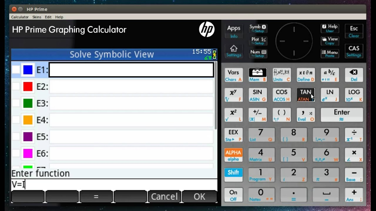 Hp Prime Apps And Using The Solve Application