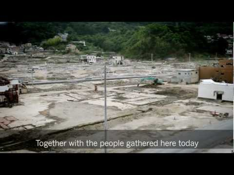 Previously Unseen Footage of Japan's Quake Zone Set to the Emperor's Speech