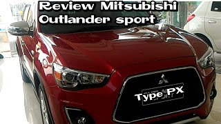 Review Mitsibishi Outlander Sport type PX automatic 2018 Indonesia