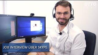 Job Interview via Skype? Vorbereitet sein mit diesen Tipps!