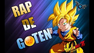 RAP DE GOTEN - IVANGEL MUSIC | DRAGON BALL RAP