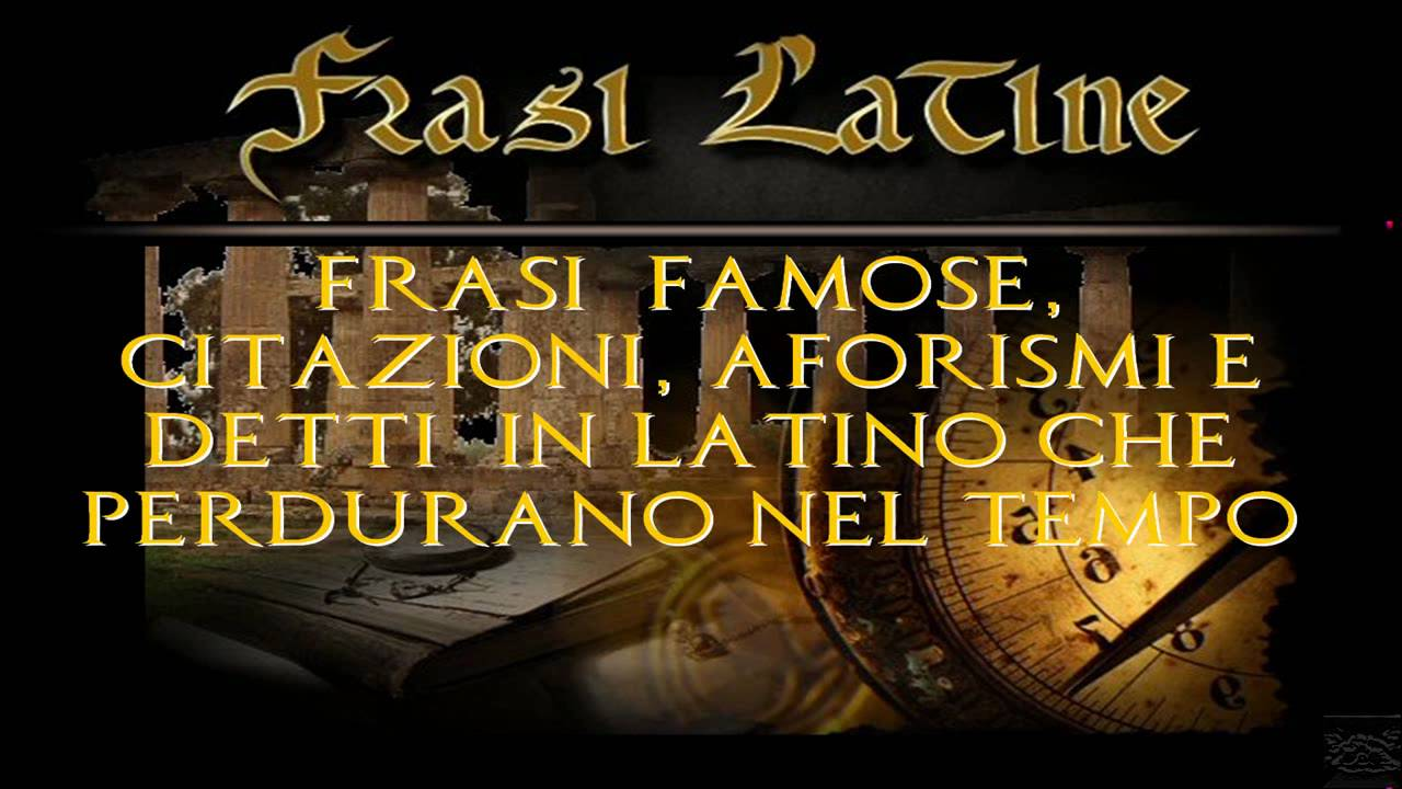 frasi vita latine