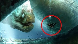 5 Creature Sconvolgenti trovate sott'acqua e riprese a Video!