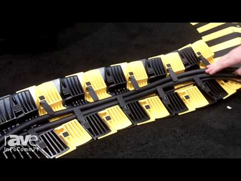 InfoComm 2014: UltraTech International Presents the Ultra-Sidewinder Cord Protection System