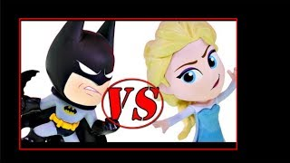 baby elsa vs baby batman