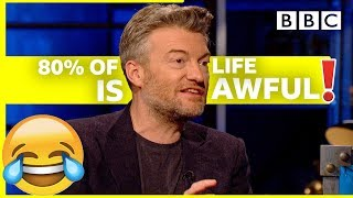 Why Black Mirror's Charlie Brooker HATES doing almost anything | Room 101 - BBC