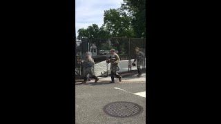 National Guard arrive at White House as DC protest kicks off | AFP