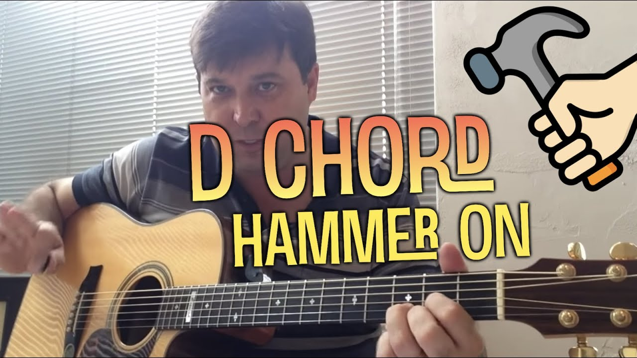 Our Father Millennium Prayer Guitar Tip D Chord Hammer On