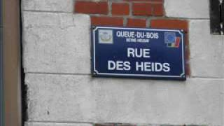 Beklimming Rue des Heids (Queue du Bois)