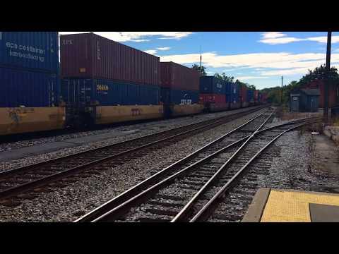 CSX Freight Train in Martinsburg, West Virginia