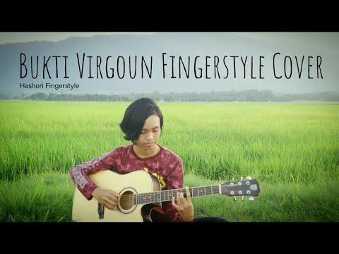 *Karaoke* Bukti By Virgoun  Fingerstyle Guitar Cover (instrumental) With Lirik
