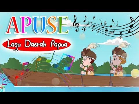 APUSE (lagu daerah Papua) | Diva Bernyanyi | Lagu Daerah | Lagu Anak Channel