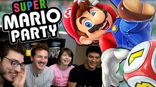 Galère en famille sur Super Mario Party (Switch - Gameplay FR)
