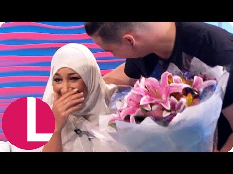 Grenfell Volunteer Hanan Miezou Gets a Special Surprise   Lorraine