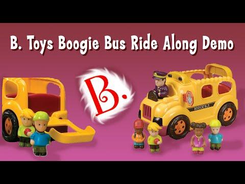 Battat B. Toys Boogie Bus Wheels On The School Bus Demo Ride