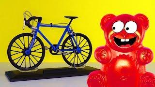 Lucky Bär bekommt ein Fahrrad - Die Diät kann beginnen!