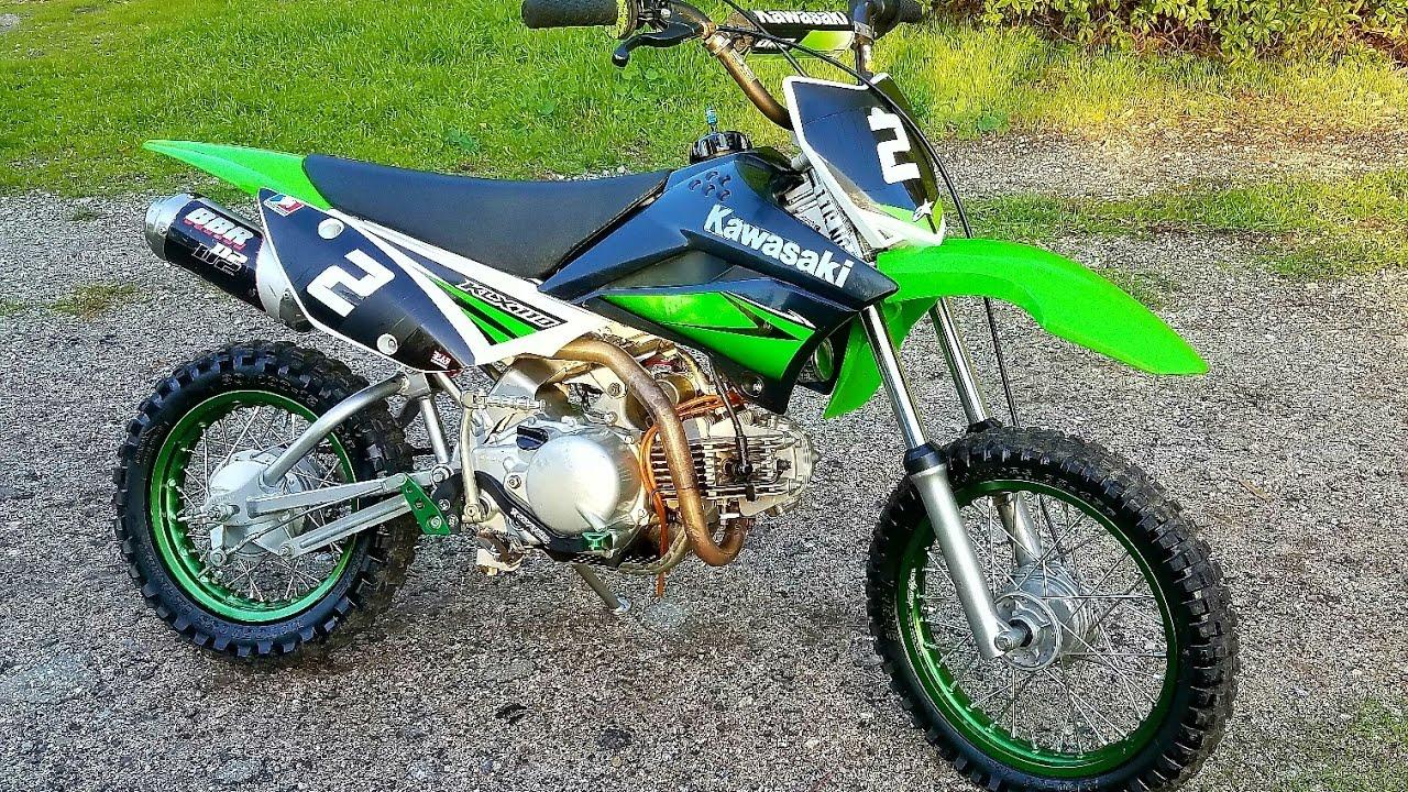 2010 Kawasaki KLX110 - YouTube