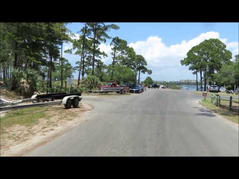 St Andrews State Park Campground May 24 2015
