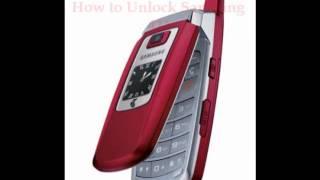 Samsung 411 Unlock Code - Free Instructions