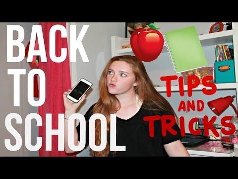 BACK TO SCHOOL TIPS/ TRICKS