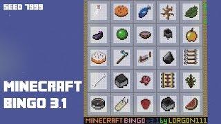 Minecraft Bingo 3.1 - Seed 7999