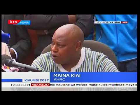 Maina Kiai: If you want to arrest me, I am here