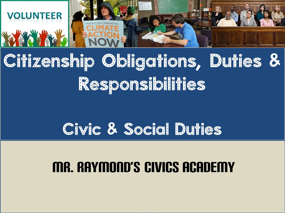 citizenship duties obligations and responsibilities civics eoc sol youtube. Black Bedroom Furniture Sets. Home Design Ideas