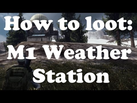 How to loot: M1 Massive Weather Station [Interactive Map]
