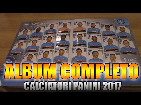 ALBUM COMPLETO! CALCIATORI PANINI 2016/2017! COLLEZIONE COMPLETATA! [By Giuse360]