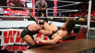 Daniel Bryan vs. Ryback - Gauntlet Match: Raw, July 22, 2013