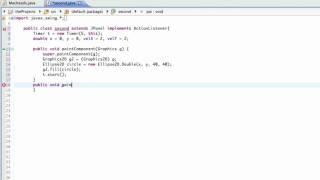 Java GUI Lesson 11 | Moving a Graphic