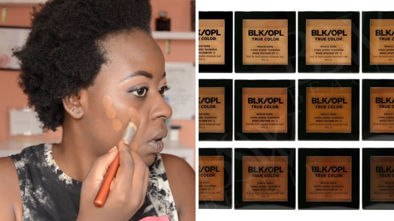 Black opal foundation for oily skin