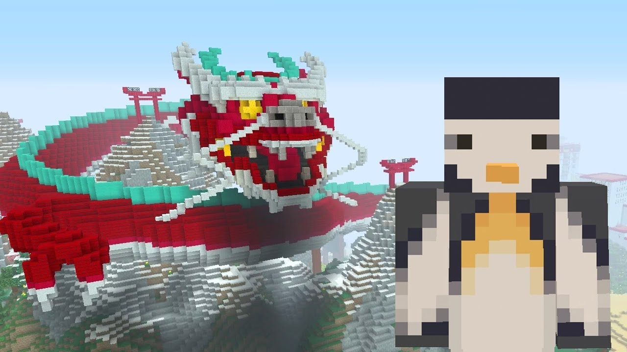Minecraft Xbox Chinese Mythology Mash Up Pack The Red