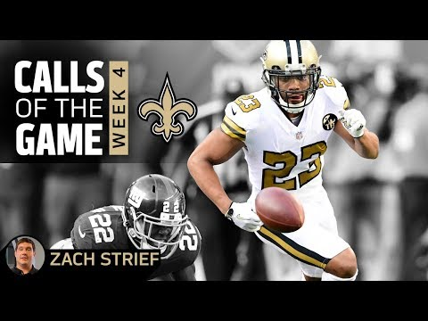 Calls of the Game w/ Zach Strief | Saints at Giants | Week 4 | 2018 NFL