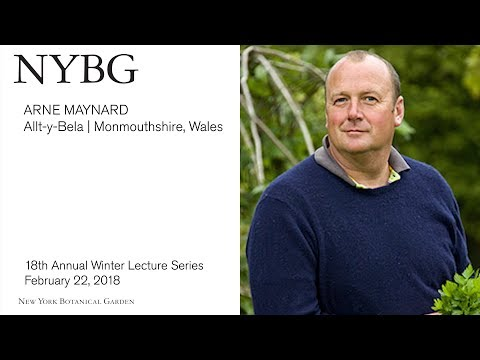 Winter Lecture Series: Ane Maynard, Allt-y-bela