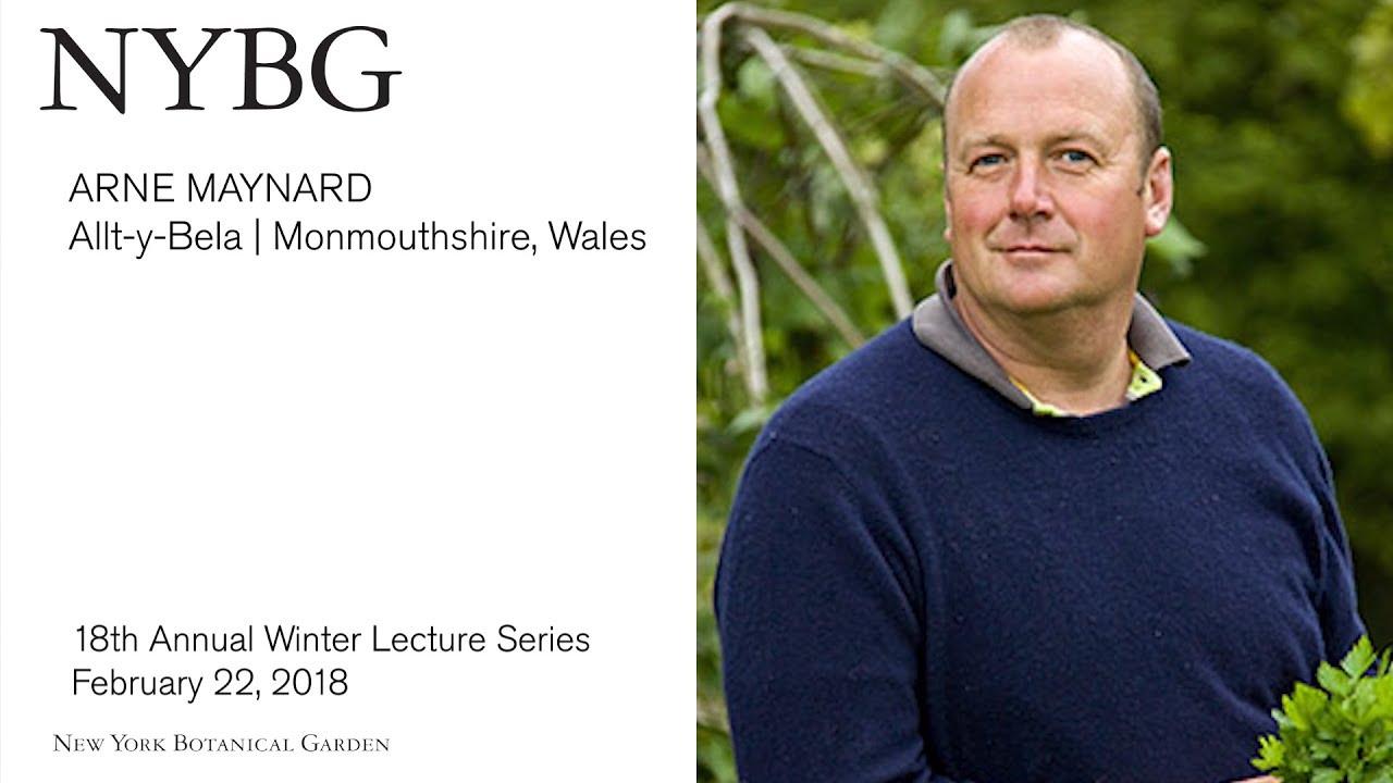 Winter Lecture Series Arne Maynard Allt Y Bela Youtube