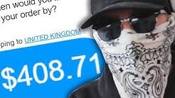 I SPENT $400 ON BOOTLEG YOUTUBER MERCH