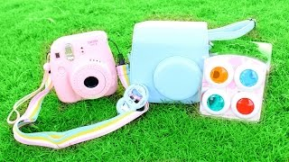 Toy Review Fuji Film Instax Mini Accessory Playset