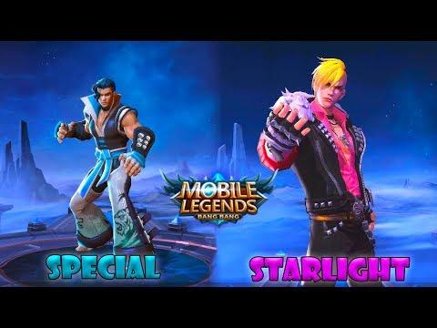 Chou | Go Ballistic Starlight Skin VS Furious Tiger Special Skin | Mobile Legends