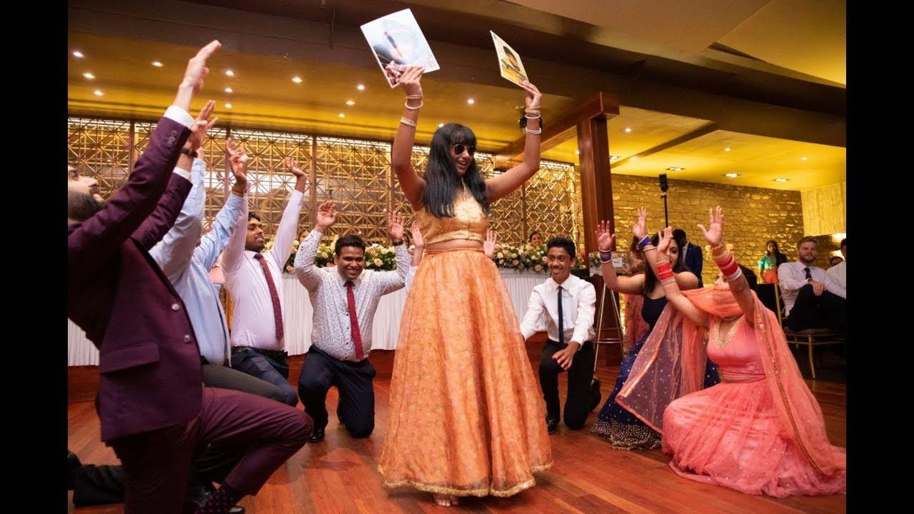 COUSINS DANCE PERFORMANCE 2019 | INDIAN RECEPTION | SYDNEY, AUSTRALIA
