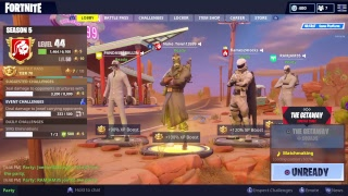 Fortnite L'escapade Sqaud