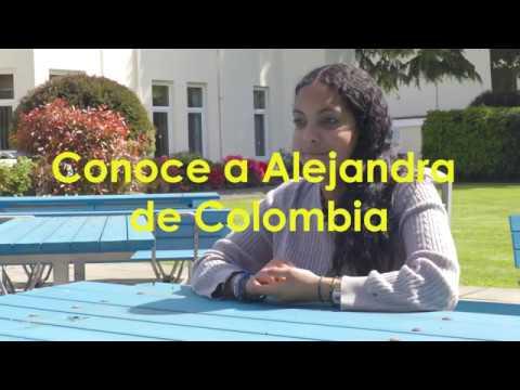 Conoce a Alejandra de Colombia - Anglo-Continental