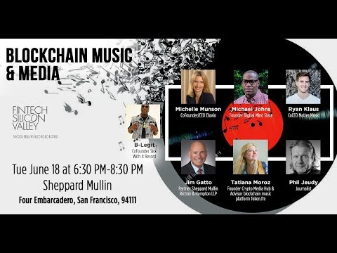 Blockchain Music & Media panel LIVESTREAM