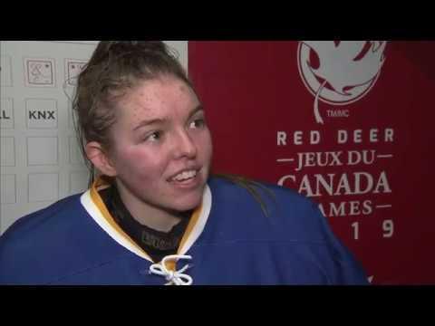 2019 Canada Winter Games TSN Women's Hockey Final March 2