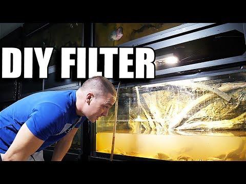 DIY AQUARIUM FILTER in 2 mins