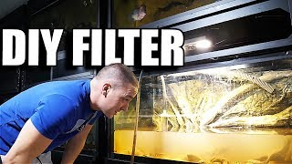 DIY AQUARIUM FILTER in 2 mins