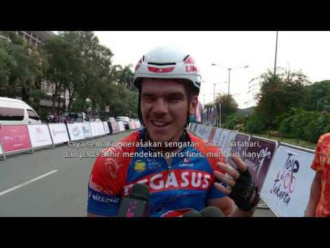 Lomba Balap Sepeda TOUR DE JAKARTA 2016 - NET Sport