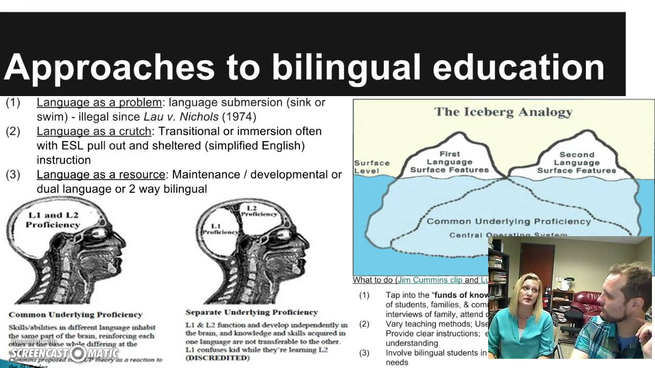 bilingual education 2 Bilingual education is an umbrella term for many types of programs in which two   two-way immersion, one type of dual language education,.