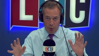The Nigel Farage Show: The start of the great Brexit betrayal? Live LBC - 15th August 2017